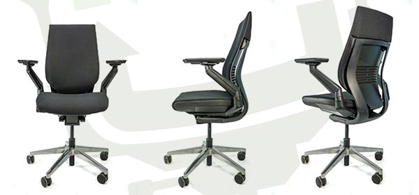 Steelcase Gesture - Front, Side, Back