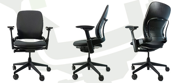 Steelcase V2 Leap - Front, Side, Back