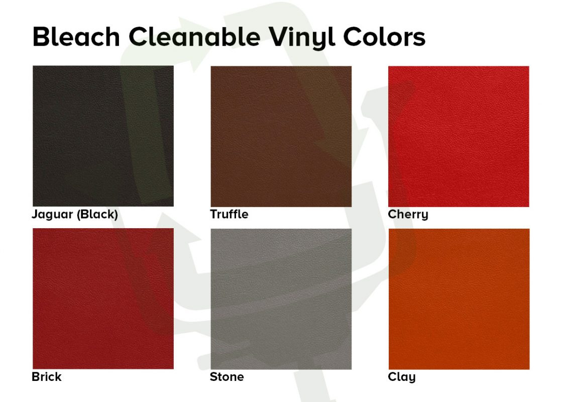 Crandall Office Furniture Bleach Cleanable Vinyl Options