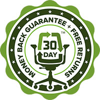 Crandall Office - 30 Day Money Back Guarantee + Free Returns Seal