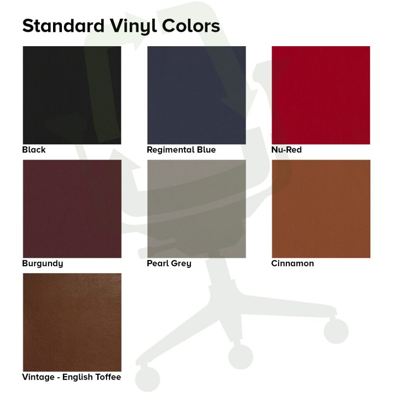 Crandall Office Furniture Standard Vinyl Colors