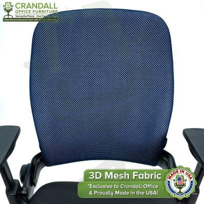 Crandall Office 3D Mesh Fabric Closeup - 01
