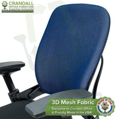 Crandall Office 3D Mesh Fabric Closeup - 03