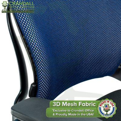 Crandall Office 3D Mesh Fabric Closeup - 04