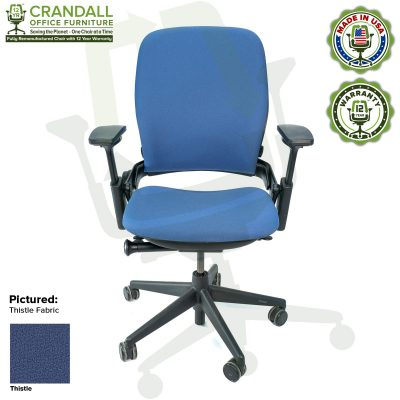 Remanufactured Steelcase V2 Leap - Color Thistle