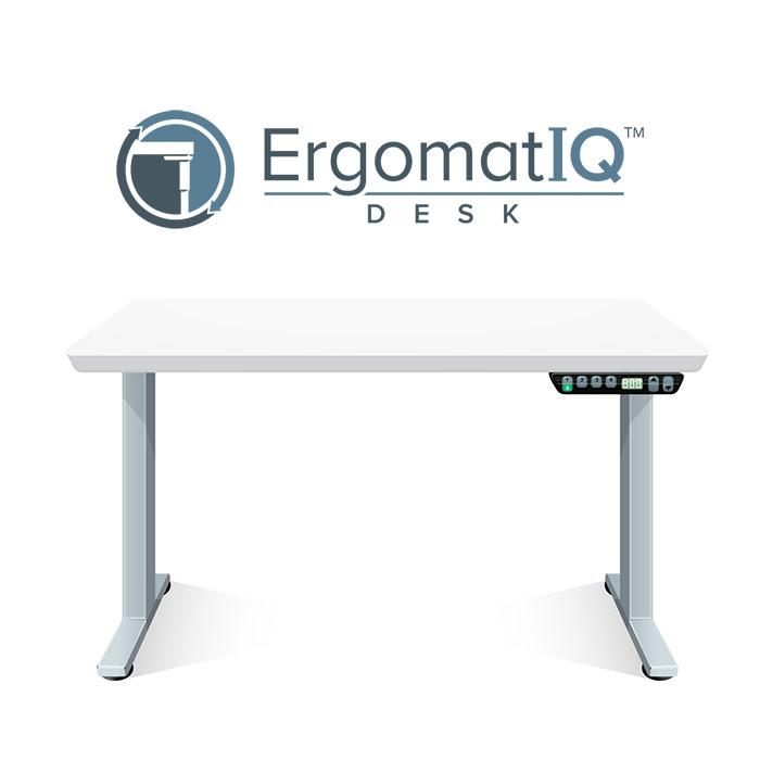 ErgomatIQ Desk by Crandall Office