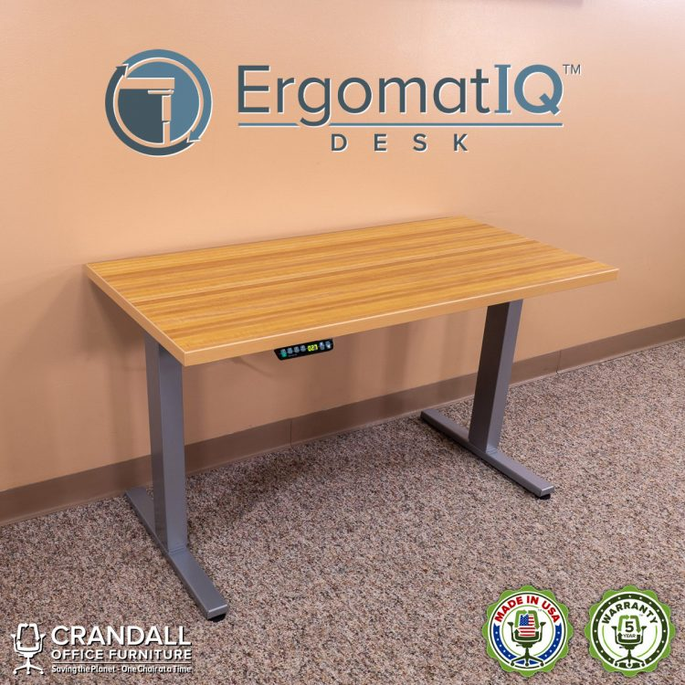 Crandall-Office-Furniture-ErgomatIQ Height-Adjustable-Desk-001