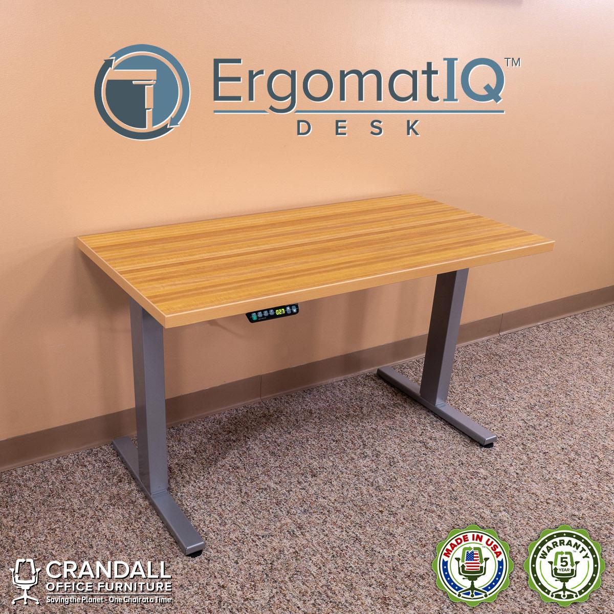 Crandall-Office-Furniture-ErgomatIQ Height-Adjustable-Desk-001