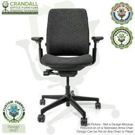 Custom Fabric Steelcase V1 Leap Chair 0027