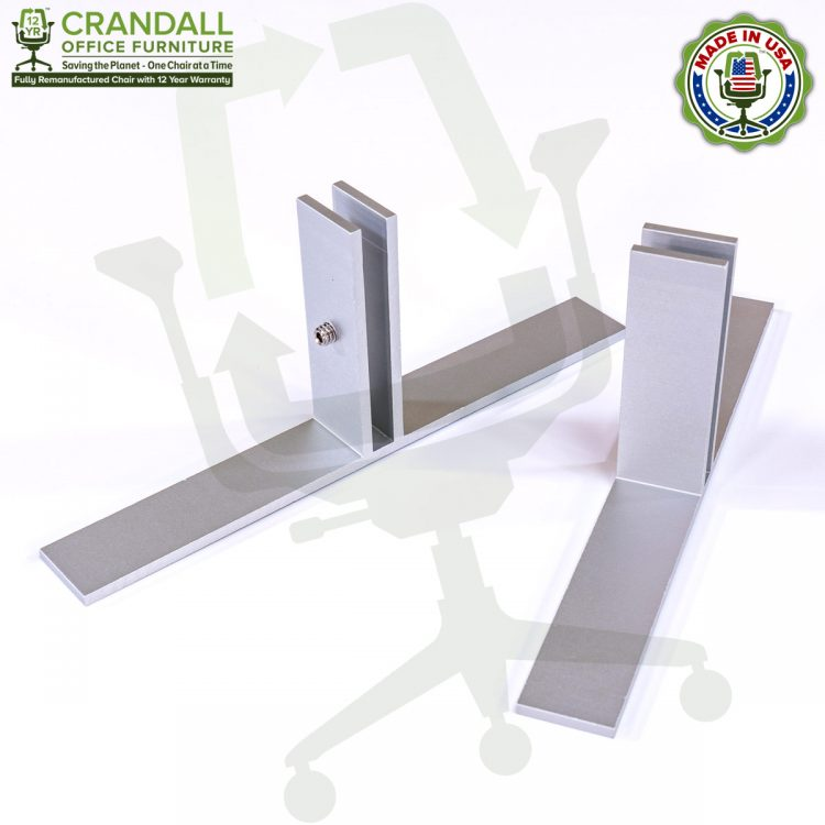 Table Top Free Standing Plexiglass & Acrylic Barrier Brackets 0001