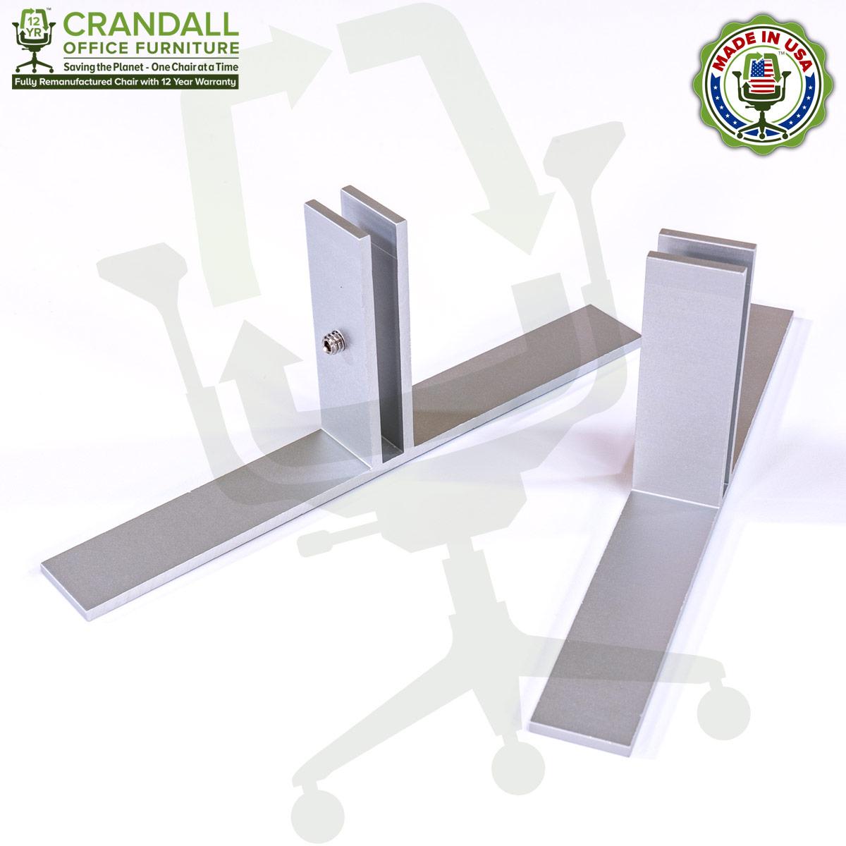 Table Top Free Standing Plexiglass & Acrylic Barrier Brackets 0001