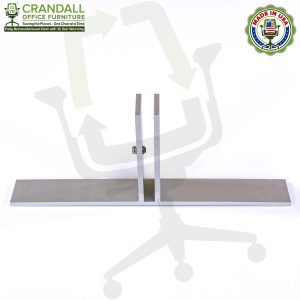 Table Top Free Standing Plexiglass & Acrylic Barrier Brackets 0002