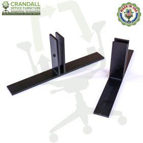 Table Top Free Standing Plexiglass & Acrylic Barrier Brackets 0003