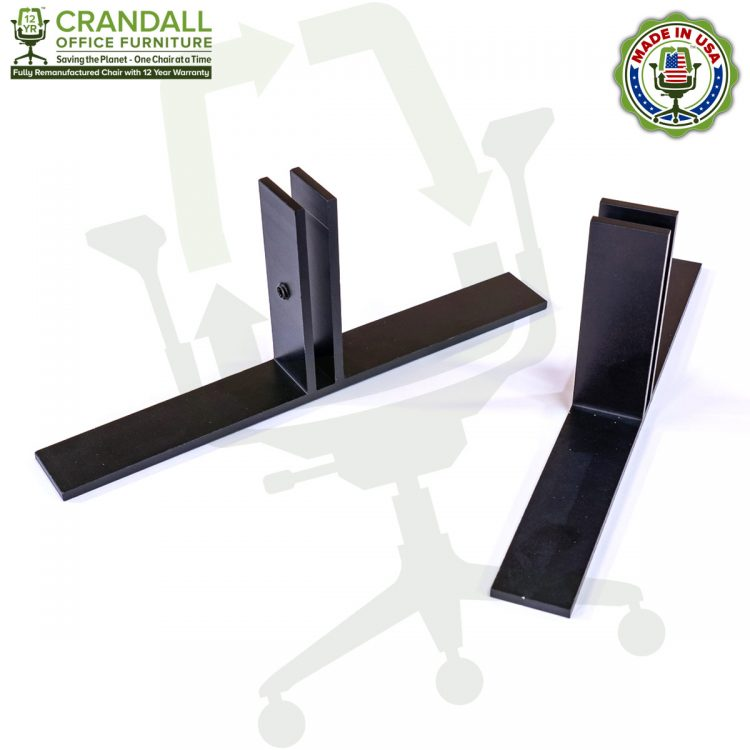 Table Top Free Standing Plexiglass & Acrylic Barrier Brackets 0003