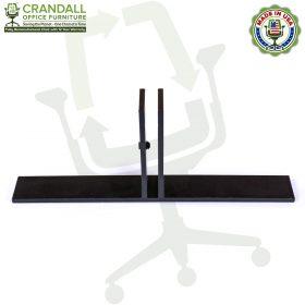 Table Top Free Standing Plexiglass & Acrylic Barrier Brackets 0004