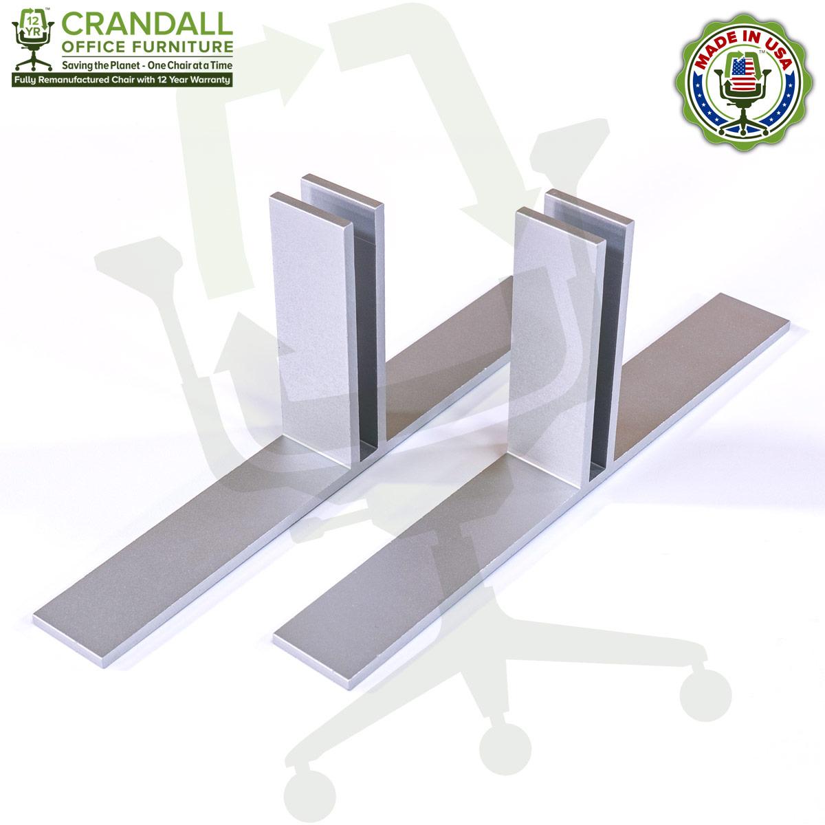 Table Top Free Standing Plexiglass & Acrylic Barrier Brackets 0005