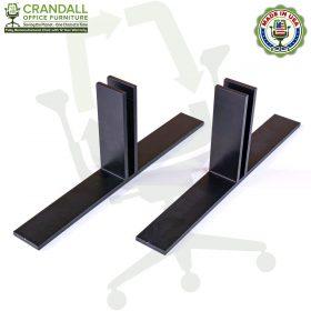 Table Top Free Standing Plexiglass & Acrylic Barrier Brackets 0006