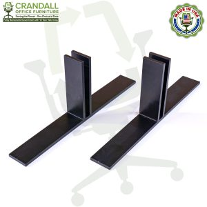 Table Top Free Standing Plexiglass & Acrylic Barrier Brackets 0006