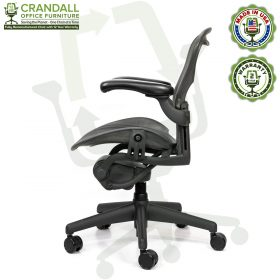 Crandall Office Refurbished Herman Miller Aeron Chair - Size A - 0003