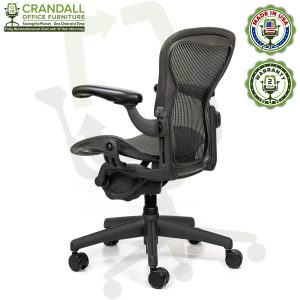 Crandall Office Refurbished Herman Miller Aeron Chair - Size A - 0004