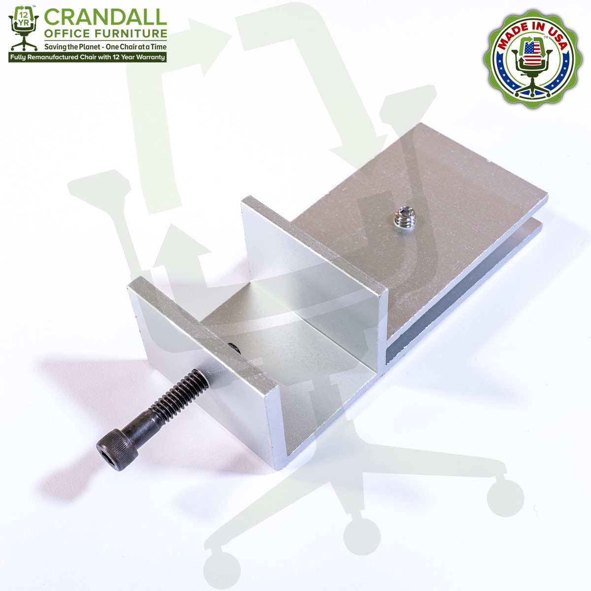 Clamp On Plexiglass & Acrylic Barrier Brackets 0001
