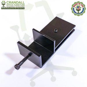 Clamp On Plexiglass & Acrylic Barrier Brackets 0002