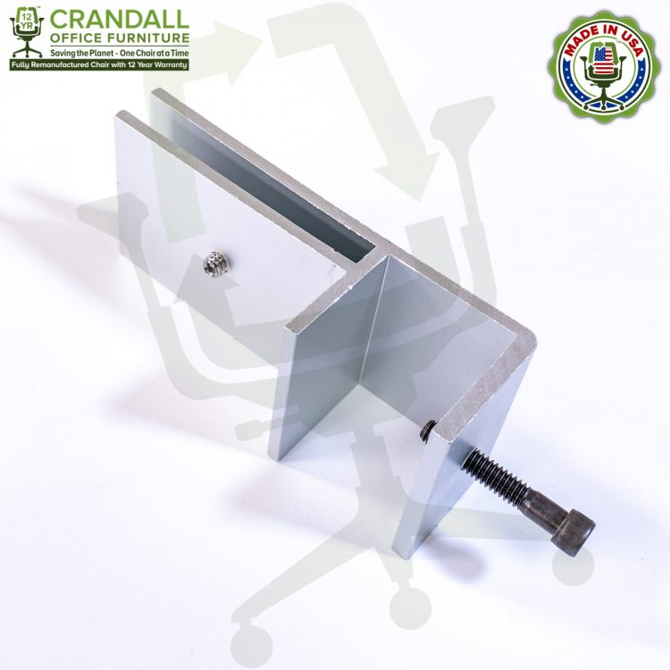 Clamp On Plexiglass & Acrylic Barrier Brackets 0003