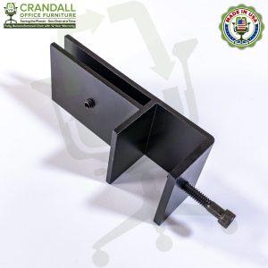 Clamp On Plexiglass & Acrylic Barrier Brackets 0004