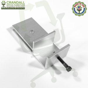 Clamp On Plexiglass & Acrylic Barrier Brackets 0005