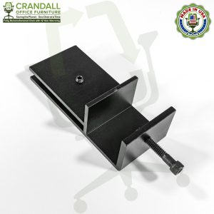 Clamp On Plexiglass & Acrylic Barrier Brackets 0006