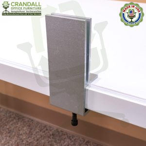 Clamp On Plexiglass & Acrylic Barrier Brackets 0007
