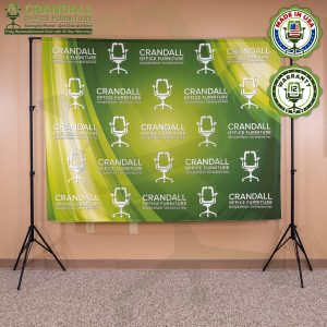 Video Call Custom Printed Backdrop 0001