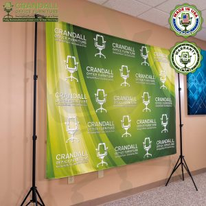 Video Call Custom Printed Backdrop 0002