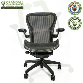 Crandall Office Refurbished Herman Miller Aeron Chair - Size C - 0001