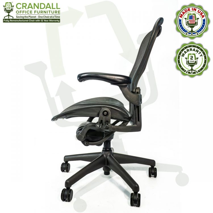 Crandall Office Refurbished Herman Miller Aeron Chair - Size C - 0003