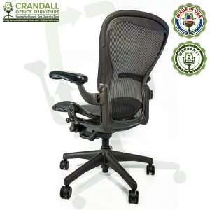 Crandall Office Refurbished Herman Miller Aeron Chair - Size C - 0004