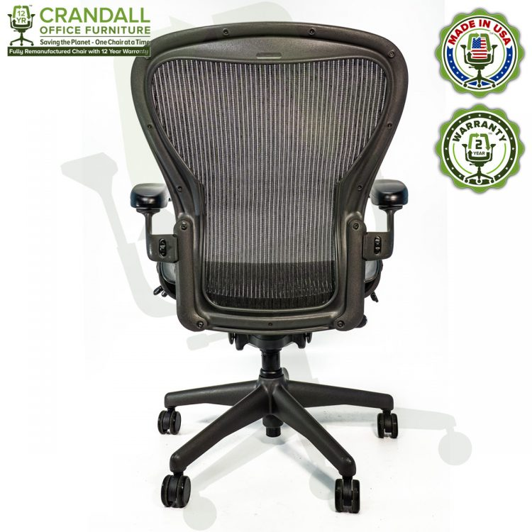 Crandall Office Refurbished Herman Miller Aeron Chair - Size C - 0005