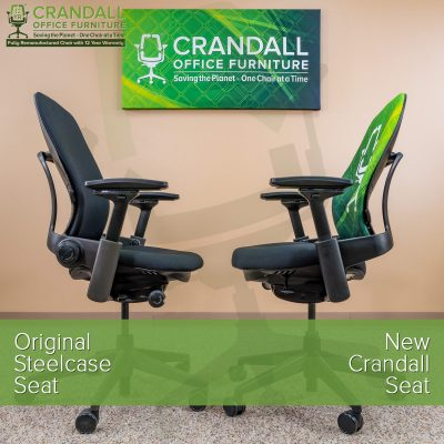 Crandall Office New Steelcase Leap Seat 10