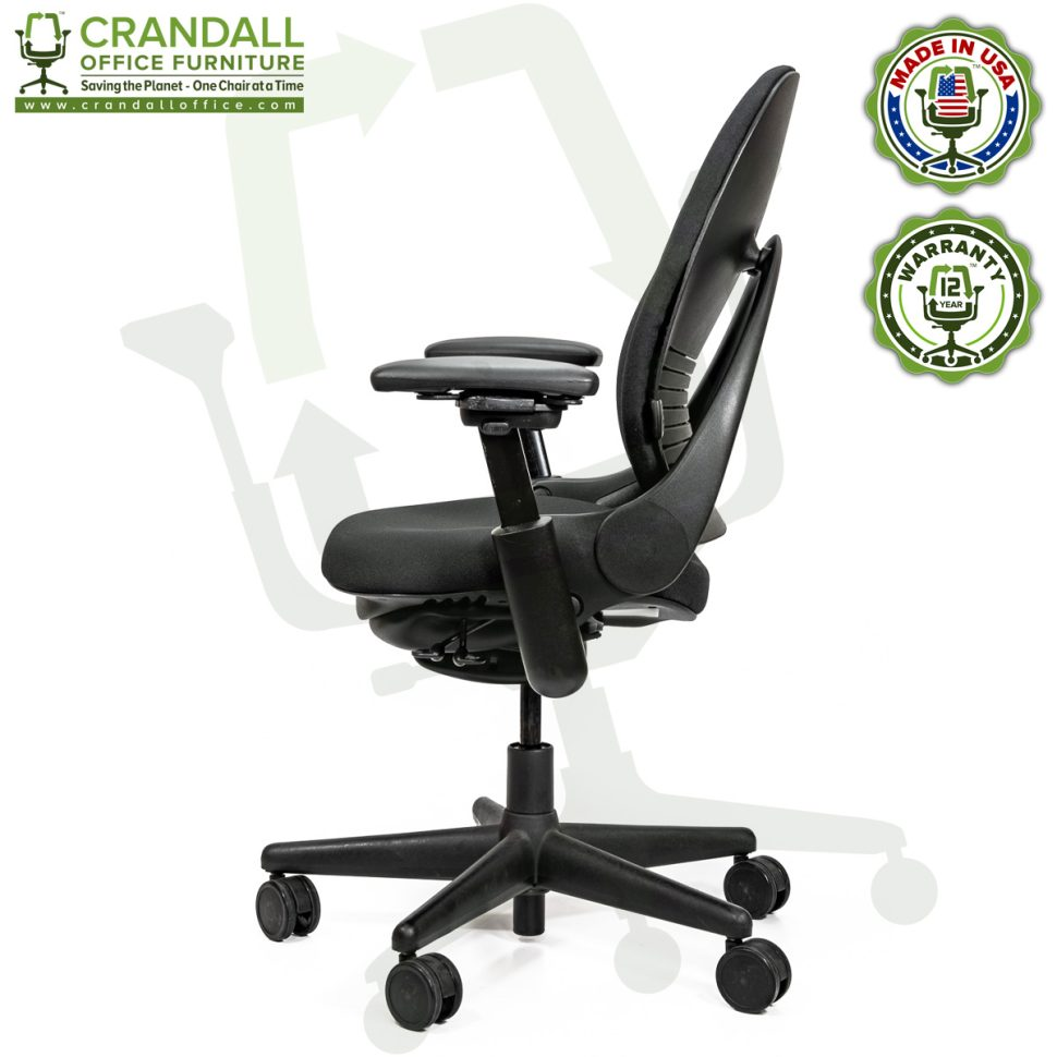 Crandall Office Furniture Remanufactured Steelcase V1 Leap Chair Arch Back - Highback 003