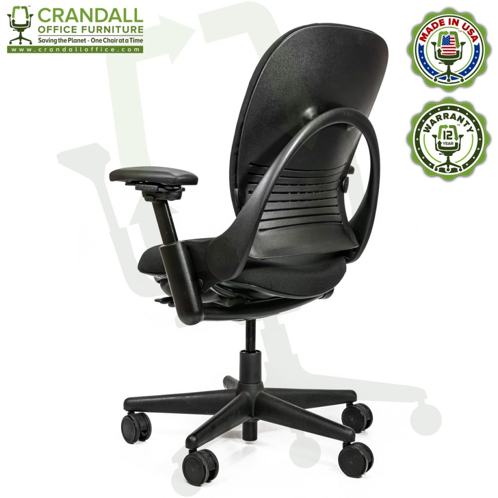 Crandall Office Furniture Remanufactured Steelcase V1 Leap Chair Arch Back - Highback 004