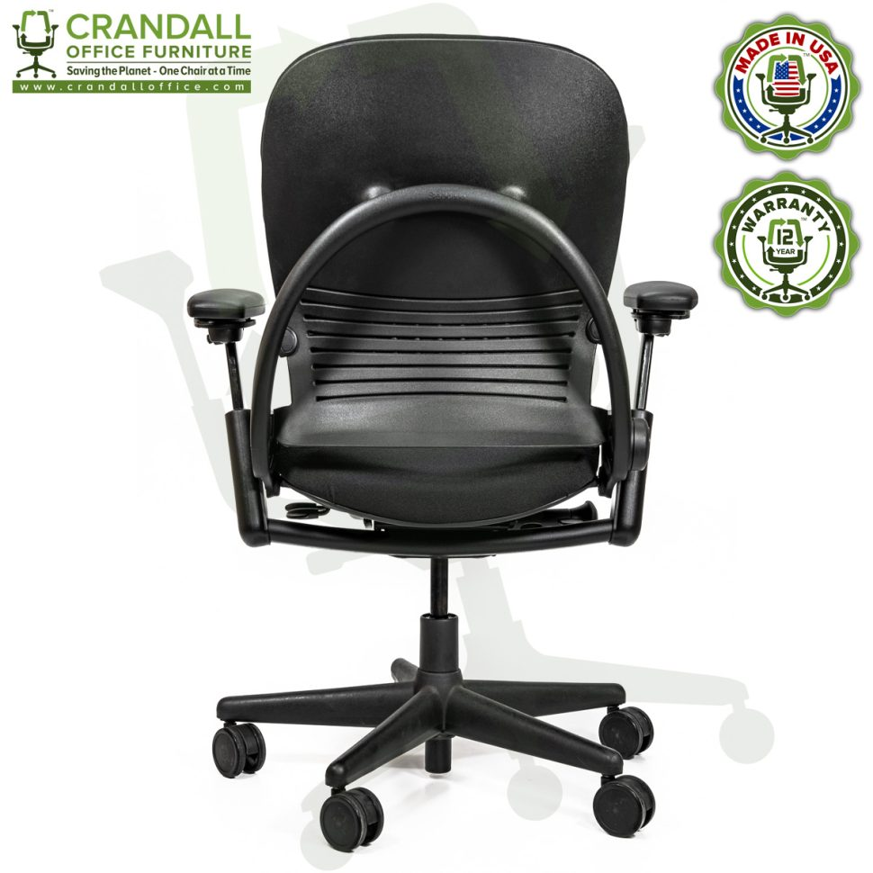 Crandall Office Furniture Remanufactured Steelcase V1 Leap Chair Arch Back - Highback 005
