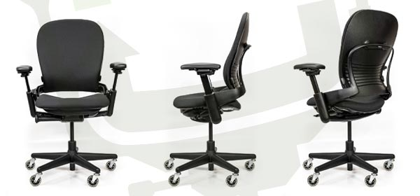 Steelcase V1 Leap Chair Highback Chair Angles