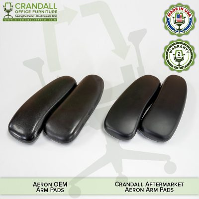 Aftermarket vs OEM Herman Miller Aeron Arm Pad Comparison 04