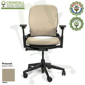 Remanufactured Steelcase V2 Leap - Open House Angora Fabric