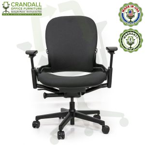 Crandall Office Furniture Remanufactured Steelcase V2 Leap Plus Chair 01