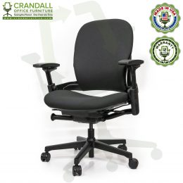 Crandall Office Furniture Remanufactured Steelcase V2 Leap Plus Chair 02