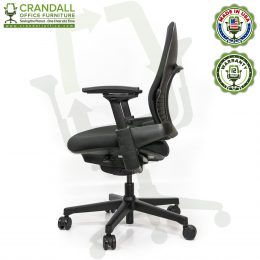 Crandall Office Furniture Remanufactured Steelcase V2 Leap Plus Chair 03