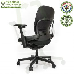 Crandall Office Furniture Remanufactured Steelcase V2 Leap Plus Chair 04
