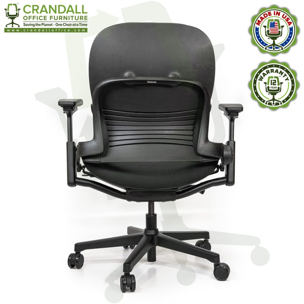 Crandall Office Furniture Remanufactured Steelcase V2 Leap Plus Chair 05