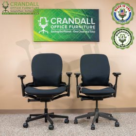Crandall Office Furniture Remanufactured Steelcase V2 Leap Plus Chair 06